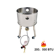 Stainless Steel Outdoor Camping Cooking Stove Single Burner Stove Bbq Gas Cooker