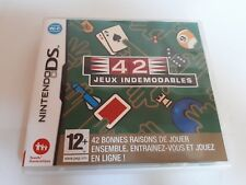 Jeu console Nintendo ds 42 jeux indemodables
