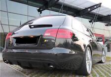 Spoiler Diffusor für Audi A6 4F Heckschürze C6 Heckansatz Stoßstange S-Line S6