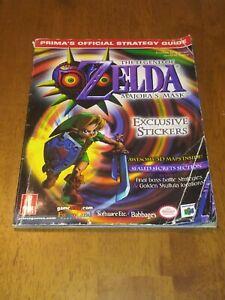 The Legend of ZELDA MAJORA'S MASK (2000) Prima's Official VG STRATEGY GUIDE N64