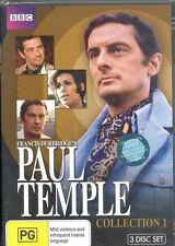 Paul Temple Collection One 1 DVD NEW 3-disc