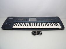 KORG triton extreme 61 key synth workstation. (carrying case,sustain pedal)