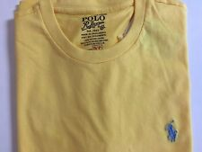 NWT Men's Polo Ralph Lauren SS Crewneck Classic Fit T-Shirt Fall Yellow - Small