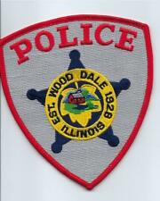 PATCH US POLICE PD Wood Dale