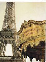 """Carousel in Paris""  ...Classic-  ...{Postcard} (V-16)"