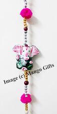 Indian Goddess Ganesh Hanging Mobile String Diwali Decoration Ornaments L 100cm