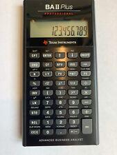 Texas Instruments BA II Plus Professional Financial Calculator with co2CREA case