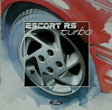 Ford Escort RS Turbo Sales Brochure - July 1986.