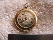Antique Olympic Women's Pocket Watch Gold Filled Stika Movement
