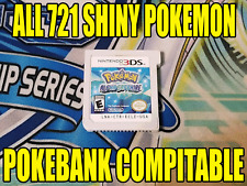 Pokemon Alpha Sapphire Unlocked All 721 Shiny Pokemon - Pokemon Bank Compatible!