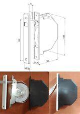 Recogedor embutido, persiana compacto, cinta de 16 mm, empotrado, sin barriga.