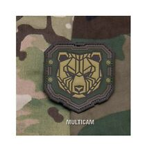 PVC Patch - Milspec Monkey MSM - INDUSTRIAL BEAR - Morale - MULTICAM Arid