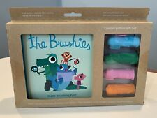 The Brushies, Finger Puppet Toothbrushes, Variety Pack Of Four, New, Gift Set