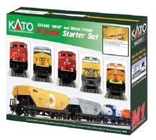 Kato # 1060022 GE ES44AC GEVO Mixed Freight Starter Set CP N Scale MIB