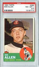 1963 TOPPS BOB ALLEN #266 PSA 8.5 NM-MT PLUS NQ 1 OF 2 JUST 12 HIGHER
