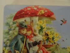 Empty Confiserie Heidel Easter chocolate tin with 2-D characters