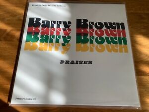 Barry Brown , Praises  , Pressure Sounds Label , 2 X LP