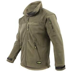 Legendfossil Fleece Jacket Outdoor Jacke Angel Jagd Sport Freizeit green grün