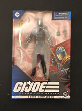 Hasbro GI Joe Classified Series 06 Cobra Commander Figure NIB Free Shipping