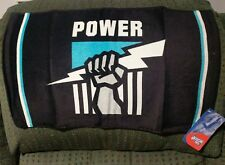 AFL Port Adelaide Power Gym Towel Bar Mat Runner - Jersey Football FREE POST