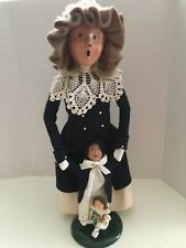 New ListingByers Choice Woman Caroler with Child 1992