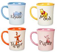 Disney Store Eeyore Piglet Pooh Tigger Storybook Coffee Mug 2017 New