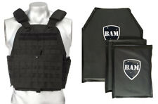 Level IIIA 3A | Body Armor Inserts | Bullet Proof Vest Plate Carrier - 10x12 6x8