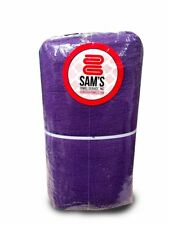Domestic Dyed and Bleached Shop Towels - Purple - Heavy Duty - 175lbs/dzn