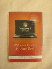 Microsoft Windows 7 Ultimate 64 Bit DVD Only, No Product Key included