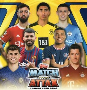 Topps Match Attax 2021/22 Champions League Heritage Subset Cards