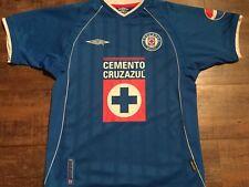 2002 Deportivo Cruz Azul Camisa De Fútbol Adultos Medio Camiseta México maglia