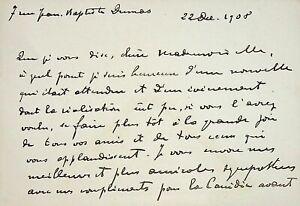 🌓 Le dramaturge Ernest Meyer félicite Berthe Cerny Comédie Française 1908