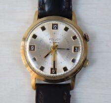 Vintage Collectible Russian POLJOT 18 Jewels Watch Wristwatch Mechanical Alarm