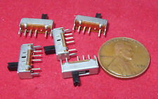 5 Pieces YSC SS1301 3 Position Mini Slide Switch SP3T ON-ON-ON 300mA 50V DC SPTT
