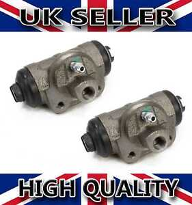 2X REAR WHEEL BRAKE CYLINDER FOR FORD TRANSIT MK5 MK6 LEFT AND RIGHT 4055730