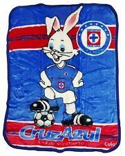 Cruz Azul Fc New Born Baby Size Blanket New in Original Package Made In Mexico