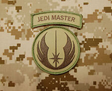 Jedi Warrior Master Patch & Tab Set NSWDG Multicam Navy SEAL SAS Star Wars Hook