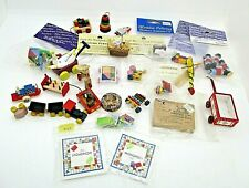 More details for dolls house 1:12 child's toys and games bundle monopoly, horse, dollhouse kit