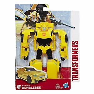 Transformers Autobot Bumblebee Voyager Class Camaro Car Model Figures Kids Gifts