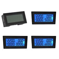 6in1 Digital LCD Leistungsmesser Frequenz Spannung Meter AC Strommessgerät TE868