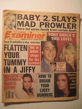 National Examiner 5-6-1986. Tony Danza! Susan Lucci! Cheryl Teigs!