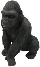 More details for out of africa jungle black gorilla figurine ornament wildlife collection 28cm