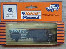 Roco Minitanks / Herpa (NEW) German Mercedes L1500 S LF 8 Fire Truck Lot #1690