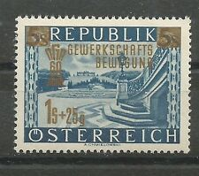 Österreich 1953 60 Jahre Gewerkschaftsbewegung **