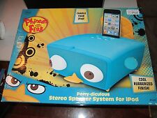 DISNEY - PHINEAS AND FERB STEREO SPEAKER SYSTEM FOR IPOD - PERRY-DICULOUS