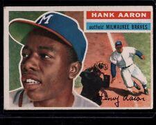 1956 TOPPS HANK AARON BRAVES CARD # 31 (4)