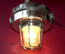 Maritime Salvaged Passageway Light Hanging Wall Mount Lamp Vintage Nautical