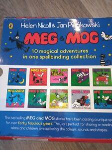 Meg and Mog Books X 10