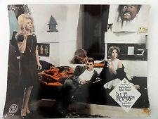 Aushangfoto DAS RUHEKISSEN Brigitte Bardot Roger Vadim Robert Hossein