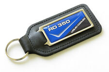 RD350LC - 83 - 4L0 Blue Leather Keyring for Yamaha RD 350 LC RD350 - NOS Parts